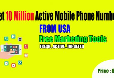 Get 10 Million US Mobile Phone Numbers Database For Marketing